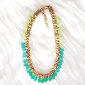 Stella & Dot Contessa Jade Necklace